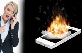 smartphone heating