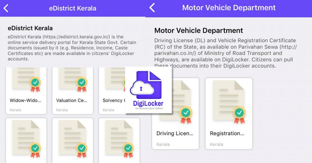 Use Digilocker App to Keep Driving license on Phone